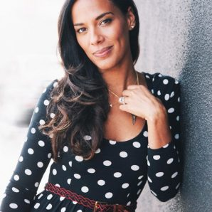Amanda Sudano on location in SIlverlake