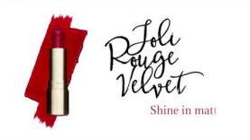 Clarins Joli Rouge Velvet – Shine in matte