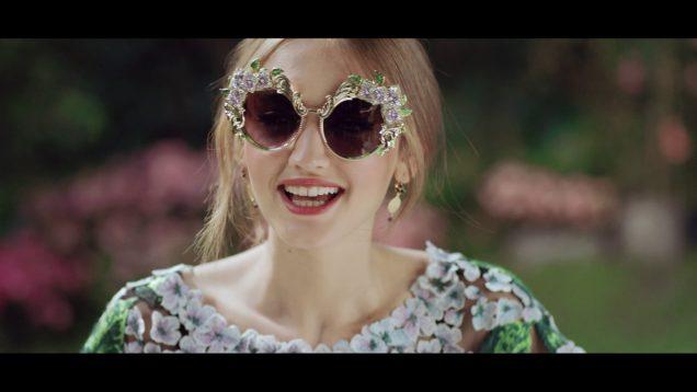 Dolce&Gabbana #DGOrtensia Eyewear Collection