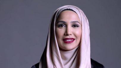 Hijab wearing hair model featured in L'Oreal Paris ad campaign