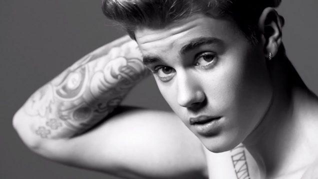 Justin Bieber + Lara Stone – Calvin Klein Jeans Spring 2015
