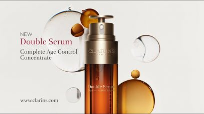 Meet Clarins New Generation Double Serum!