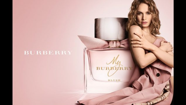 My Burberry Blush – a New Fruity Floral Eau De Parfum for 2017