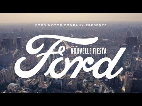 Nouvelle Ford Fiesta Vignale – Sing | 2017 | Ford FR