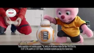 Duracell | Star Wars • The Last Jedi | Battle the dark side with BB-8 and your lightsaber toy