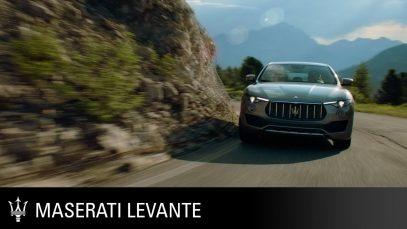 Maserati The 2018 Levante. The Maserati of SUVs