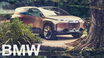 The BMW Vision iNEXT – In Arcadia